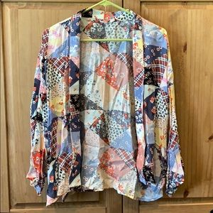 Multi-color casual jacket Size S/M